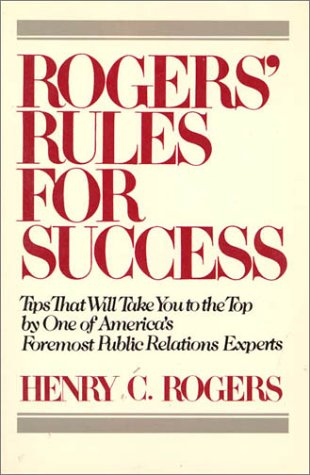 Image for Rogers' Rules for Success