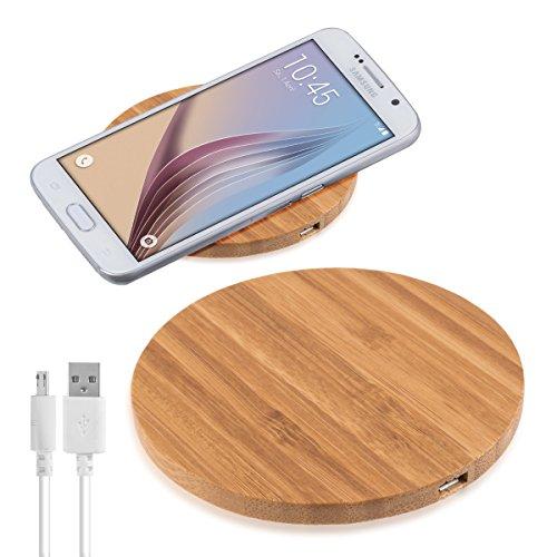 kalibri-Wireless-Qi-Ladegert-mit-Gehuse-aus-Holz-fr-alle-Qi-fhigen-Gerte-wie-Nokia-HTC-LG-Apple-und-Samsung
