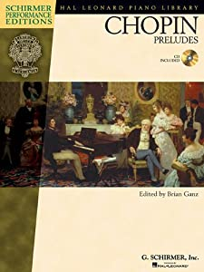 Chopin - Preludes Hal Leonard Student Piano Library by G. Schirmer
