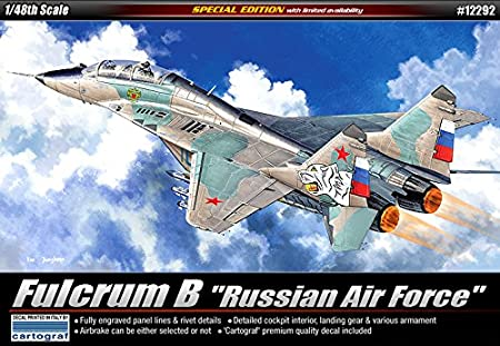 [12292] Academy Maquettes Aviation 1/48 RUSSIAN AIR FORCE FULCRUM B