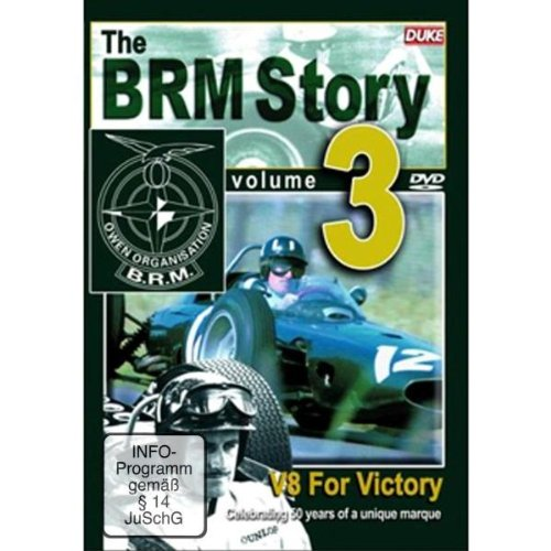 The Brm Story: Volume 3 - V8 For Victory [DVD]