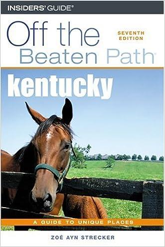 Kentucky Off the Beaten Path, 7th (Off the Beaten Path Series)
