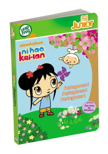 LeapFrog - 81121 - Jeu Educatif Electronique - Tag Junior - Livre - Ni Hao Kai Lan - Nickelodeon