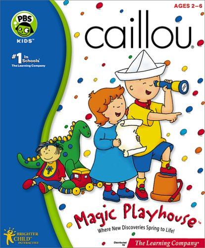 Caillou Magic Playhouse - PC