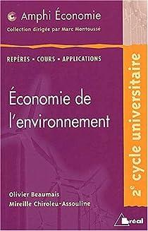 Economie de l'environnement (amphi) par Beaumais