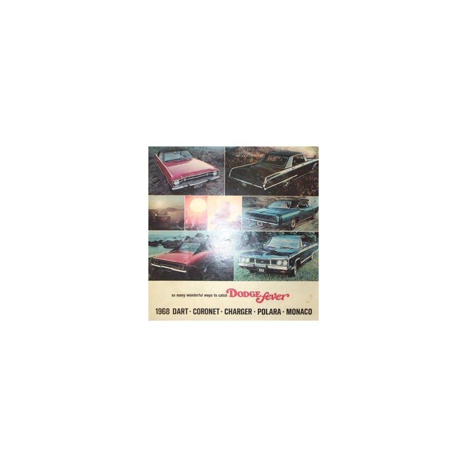 1968 Dodge Polara Sales Brochure Literature Book Advertisement Options Specs