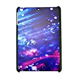 The Sky Blue Gradual Change Raindrop Hard Case Cover for iPad Mini (7.9 inch Tablet)