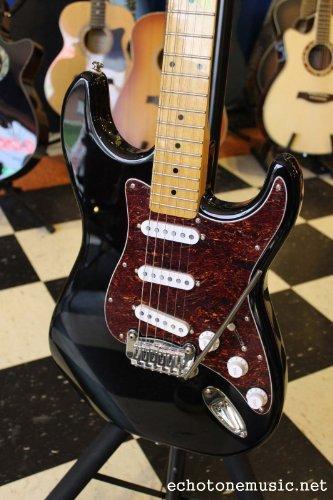 G&L Legacy Electric Guitar Gloss Black Tribute, Usa Pickups Leo Fender Designed