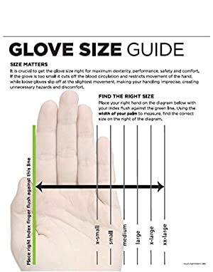 SHOWA 377XXL-10 Nitrile Foam Coating on Nitrile Glove with Polyester/Nylon Knit Liner, XX-Large (Pack of 12 Pairs) (Color: Blue, Tamaño: XX-Large)