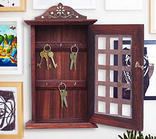 wooden-key-box-chex-inlay-work-key-holder-key-hanger-thanks-giving-or-chrismas-gift