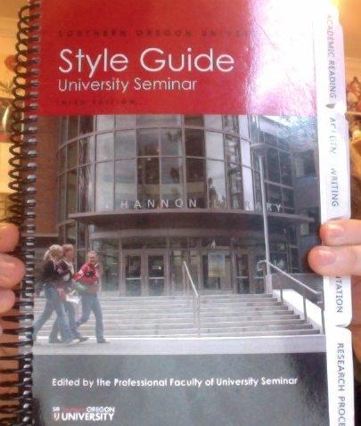 Southern Oregon University Style Guide