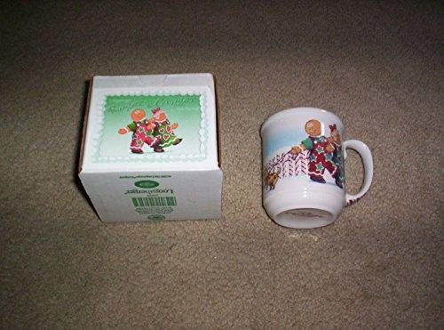 Longaberger Roger & Ginger Gingerbread House Mug Made In Usa