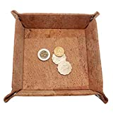 Boshiho Cork Jewelry Catchall Key Coin Box Valet Tray Change Caddy Bedside Box Storage Eco-friendly Gift