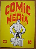 Comic Media #10, September 1973. British comic fanzine with Dave Gibbons, Modesty Blaise