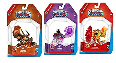 Skylanders Trap Master Enigma and Wildfire and Wallop Character Combo Set