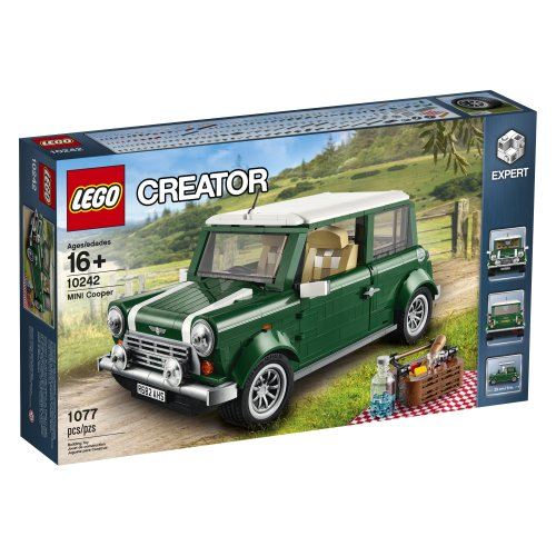 LEGO-Creator-Expert-10242-Mini-Cooper-Building-Kit