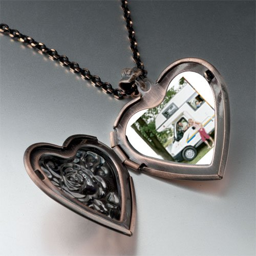 Motor Home Vacation Pendant Necklace