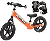 *Strider ST-4 Balance Bike with Elbow Pads & Knee Pads* (Orange)