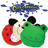 Cute Carriers (8 Pieces) Party Favors, Tote Bags, Assorted Styles