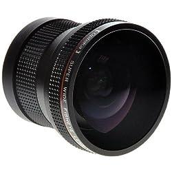 Opteka HD 0.20X Professional AF Fisheye Lens for Canon EOS 60D 50D 40D 30D 20D 7D 6D 5D 1D Rebel T4i T3i T3 T2i T1i XS XSi XTi & XT DSLR Cameras