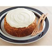 【Amazon.co.jp 限定】夕方には売切れてしまう人気ケーキ店milou 美味しい ヘルシー キャロットケーキ 卵アレルギーでも安心な絶品にんじんケーキ