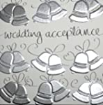 Hand Finished Wedding Acceptance Card