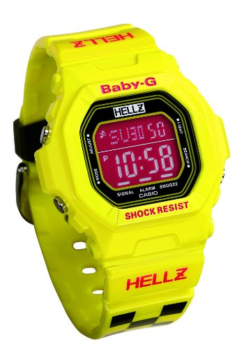 G-Shock Baby G 5600 Watch - Women's Hellz Bellz Collaboration Ltd. Edition Yellow, One Size
