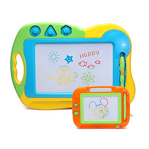 2-pieces-doodler-sketch-colorful-screen-erasable-magnetic-drawing-board-toddler-toy-by-happytime