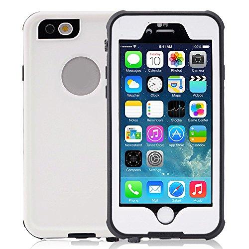 Toughsty iphone6S 4.7用防水ケース 水深2m防水 指紋認証可 ホワイト