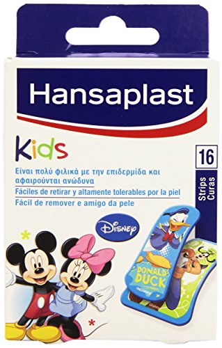 Hansaplast Strips, Design Mickey & Friends - 16 Stück