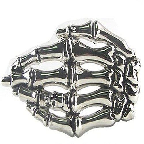 3D Skeleton Hand Belt Buckle