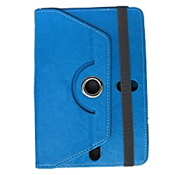 BRAIN FREEZER ROTATING FLIP COVER CASE POUCH CARRY CASE COVER CASE POUCH STAND FOR HCLME Y2 LIGHT BLUE