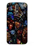 DOTA Heroes - Hard Back Case Cover for Moto G4 Plus - Superior Matte Finish - HD Printed Cases and Covers