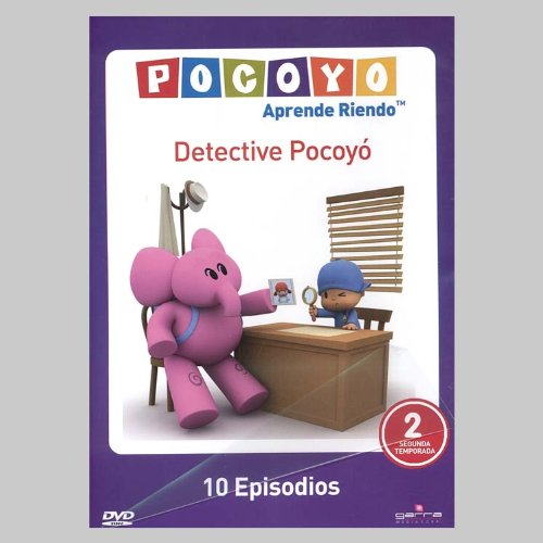 Vol. 2-Detective Pocoyo 10 Episodios [DVD] [Import]