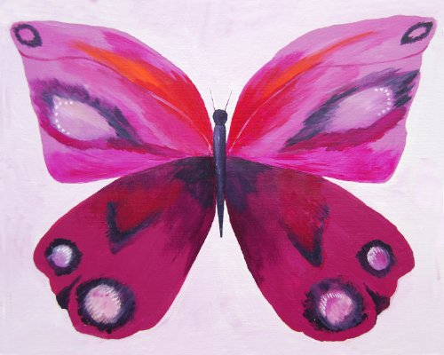 Cici Art Factory Wall Art, Purple Emperor, Small