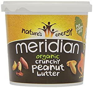 Meridian Organic Crunchy Peanut Butter 1 Kg