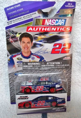NASCAR Authentics, Future Stars, Joey Lagano #22 Die-Cast Car, 1:64 Scale - 1
