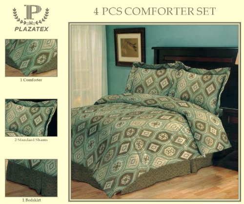 4 Piece Comforter Set (Madrid)