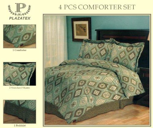 4 Piece Comforter Set (Madrid)