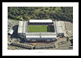Framed Blackburn Ewood Park Stadium Aerial View Photo