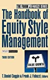 Handbook of equity style management
