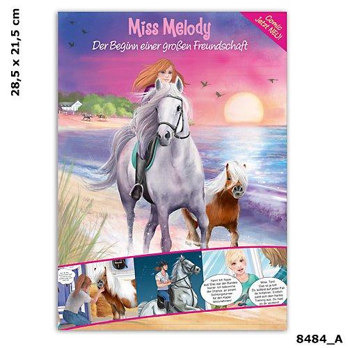 depesche top model serie miss melody comic heft pferde. Black Bedroom Furniture Sets. Home Design Ideas