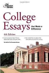 Sample College Admission Personal Essays