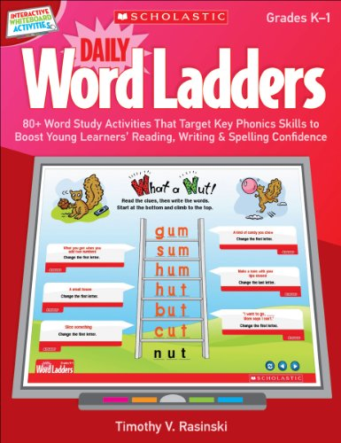 Interactive Whiteboard Activities: Daily Word 
