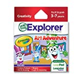 LeapFrog Crayola Art Adventure Learning Game (Works with LeapPad Tablets,Leapster Explorer GS, and Leapster Explorer)