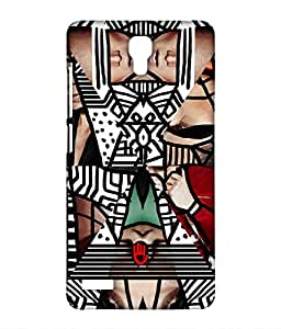 KR Green Abstract - Sublime Case for Xiaomi Redmi Note Prime