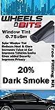 VW Golf MK1 MK2 MK3 MK4 MK5 Window Tint 0.75 x 6M Roll 20% Dark Smoke Solar Film UV Tint