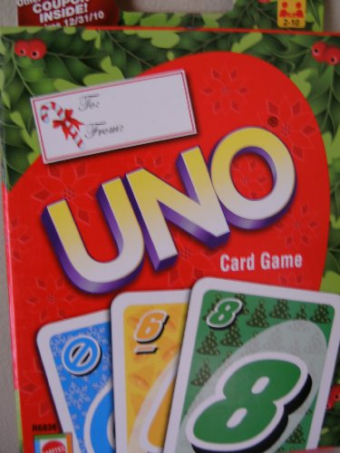 Christmas Holiday Themed Uno Card Game