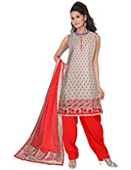 Elan Vital Women's Cotton Straight Salwar Suit - B0188YGQM0