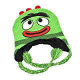 Mens Green Knit Yo Gabba Gabba Peruvian Trapper Hat